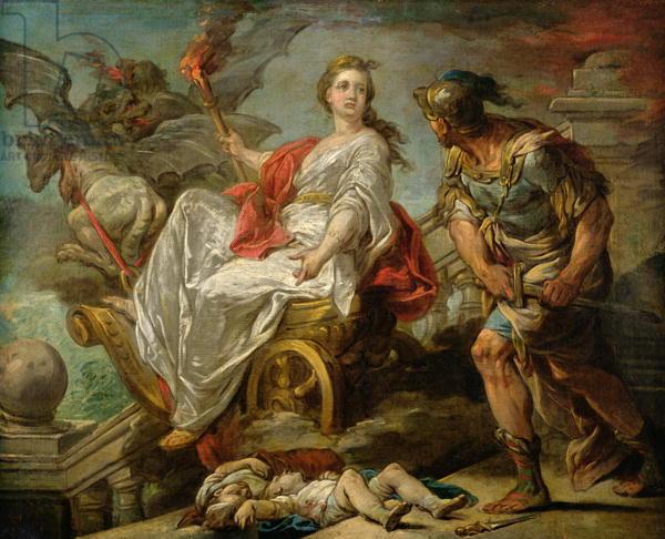 Jason and Medea, 1759 (oil on canvas)