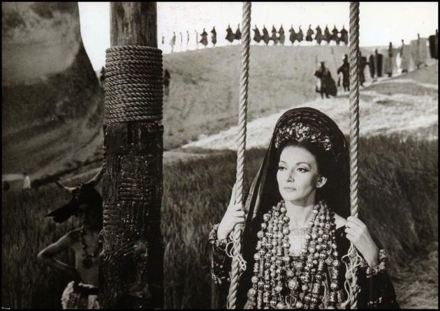 Maria Callas in Pier Paolo Pasolini 'Medea'