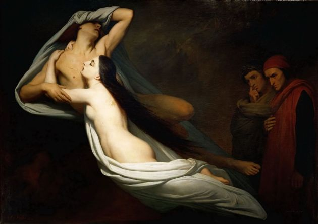 1855_Ary_Scheffer_-_The_Ghosts_of_Paolo_and_Francesca_Appear_to_Dante_and_Virgil
