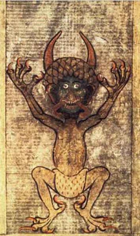 Diavolo-Codex-Gigas-sec.-XIII-Stoccolma-Biblioteca-Nazionale-di-Svezia-Stoccolma