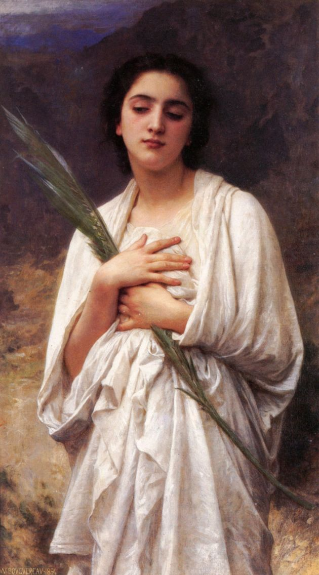 William-Adolphe_Bouguereau_(1825-1905)_-_The_Palm_Leaf_(Unknown)
